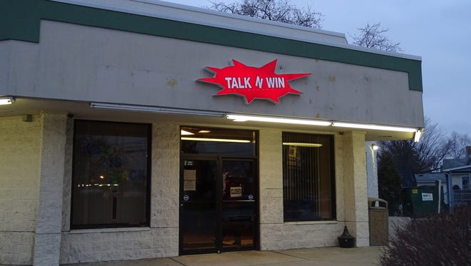 Authorities raided Talk N Win on Thursday on allegations of illegal gambling. The Internet cafe is on South Fifth Street in Fremont.