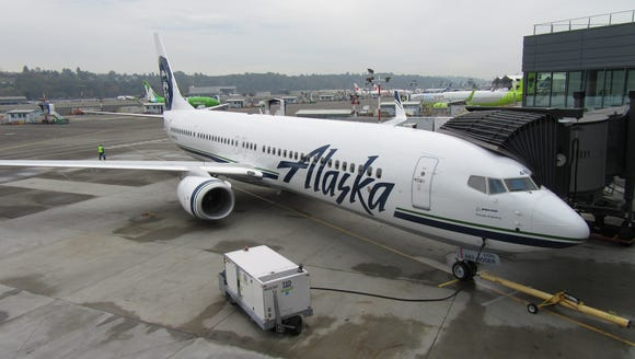 This Boeing 737-900, seen here in Seattle on Oct. 8,