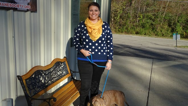 Jenn Thomas is the new executive director of the Ross  County Humane Society and started her job Monday.