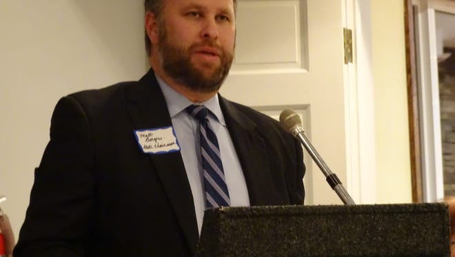 Matt Borges, chairman of the Ohio Republican Party, spoke Thursday at the Ross County Republican Lincoln Day Dinner at the Chillicothe Country Club