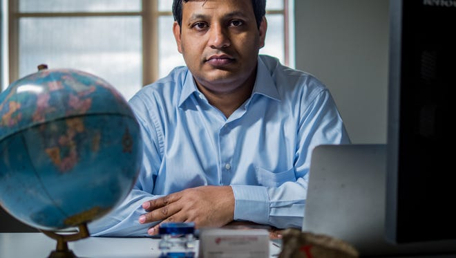 Montclair State University assositant professor and Lincoln Park resident Dr. Pankaj Lal recently was awarded a $450,000 grant to research alternative biofuel sources in certain regions of the United States.