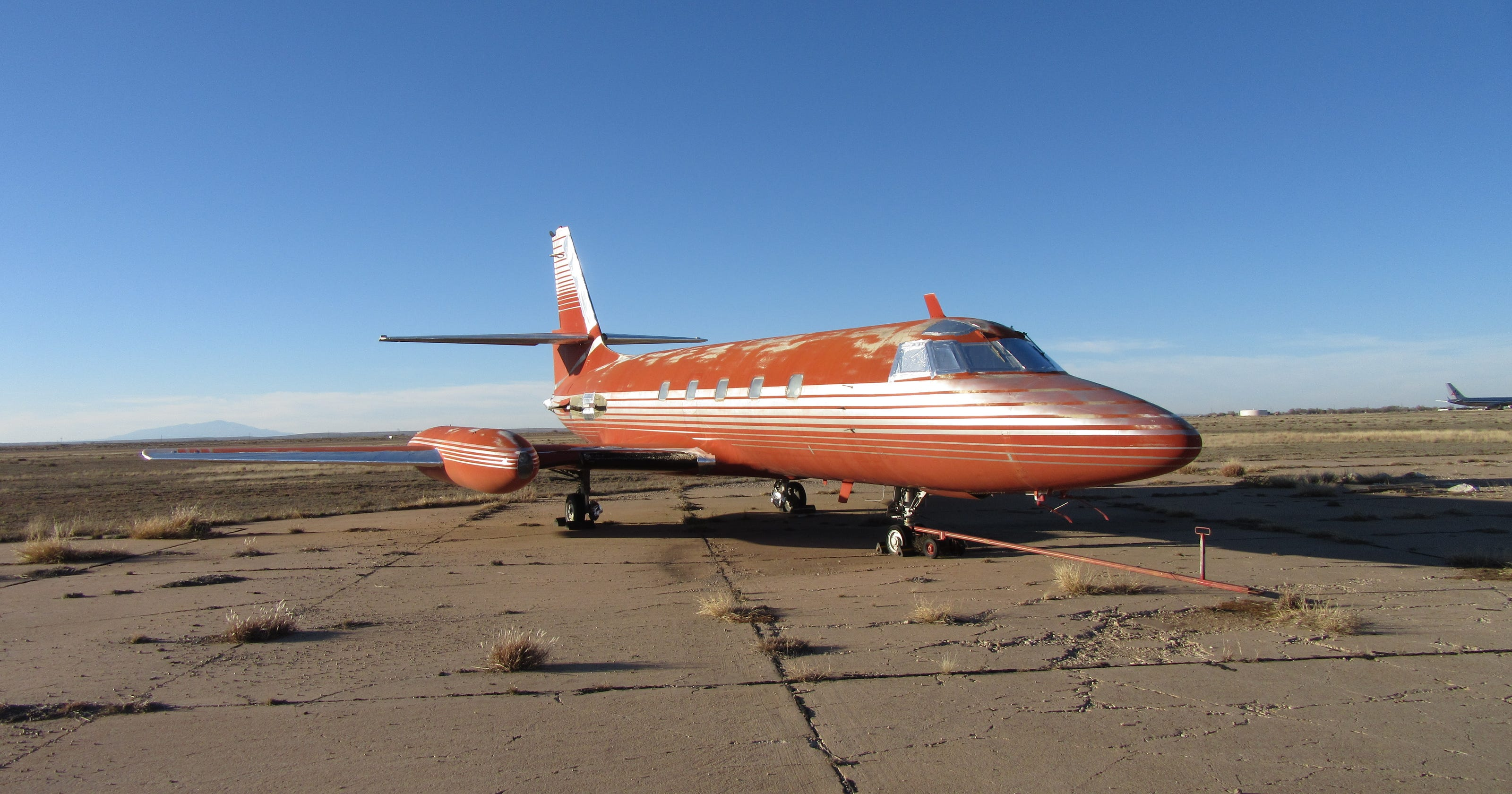 Elvis Presley's private jet is up for sale     'as is'