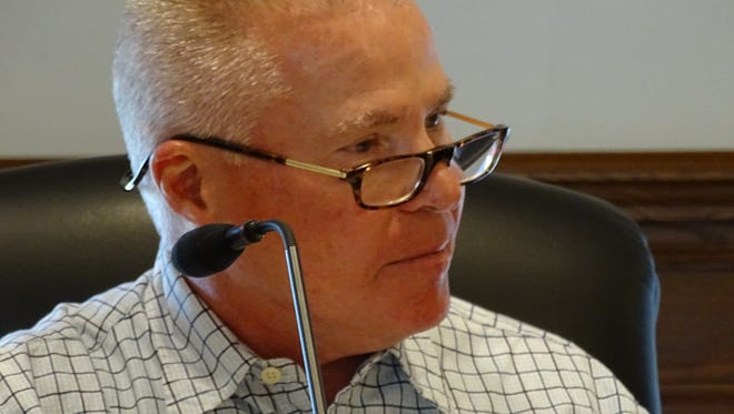 The Clyde-Green Springs school board appointed Michael Cleveland on Monday night to serve out Denise Hamrick's term, which expires Dec. 31.