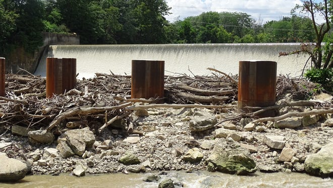 The City of Fremont plans to begin notching the Ballville Dam on Sept. 13, with total demolition slated for 2018.