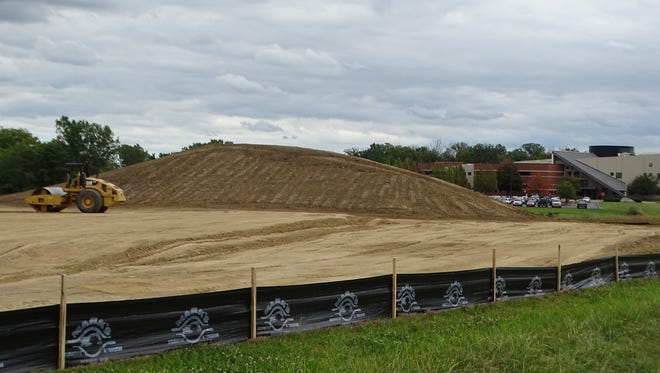 Terra State Community College's $14.5 million student housing facility is on schedule to open in fall 2018.
