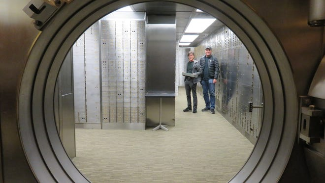 In the vault behind them, Steve Capper (left) and Dave Reddix (right) have stored away evidence that they invented the term 420 in 1971.