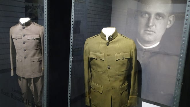 The Rutherford B. Hayes Presidential Library and Museums' new World War I exhibit includes displays with information on six grandchildren, one daughter-in-law and one son of former President Hayes and their service in Europe and America during the war.