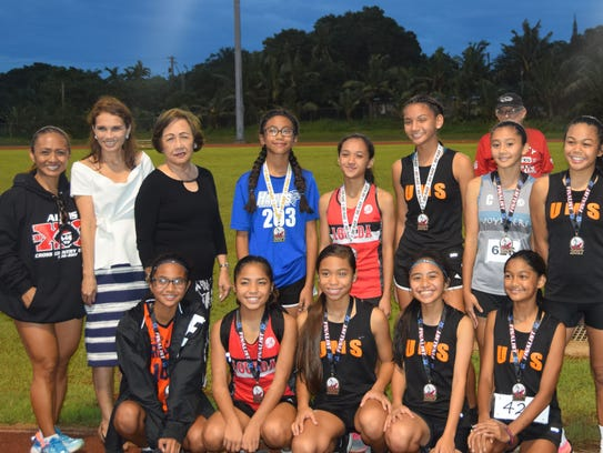The top 10 girls in the Guam Department of Education