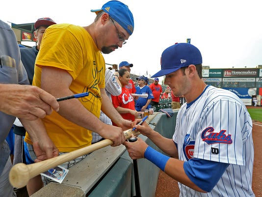 Kris Bryant autograph