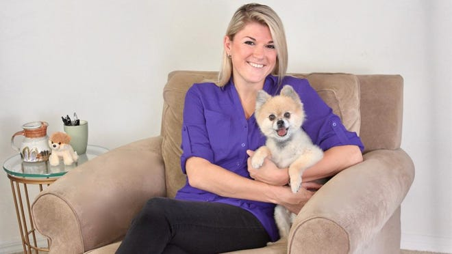 "Lauren Azar of Delray Beach has always has been most comfortable with her own company. ""I'm happiest when I'm by myself, with my 16-year-old Pomeranian, Mr. Bean by my side and CNN on TV while I'm playing games on my iPad."""