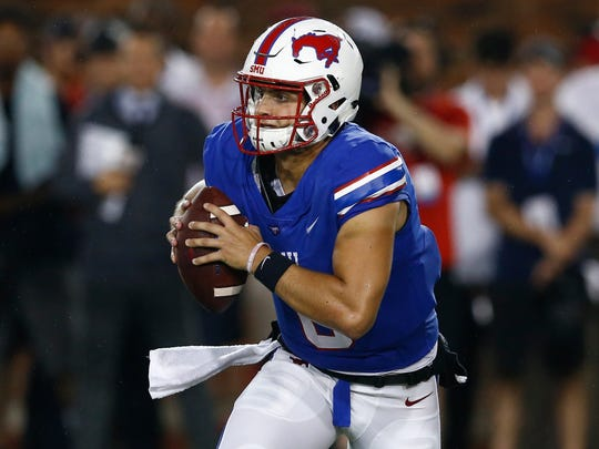 SMU quarterback Ben Hicks.
