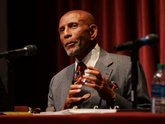 Elbert Guillory at the 4th Congressional Debate Thursday