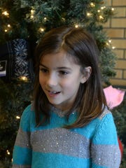 Loy Elementary second grader Kailey Caiazza, age 7