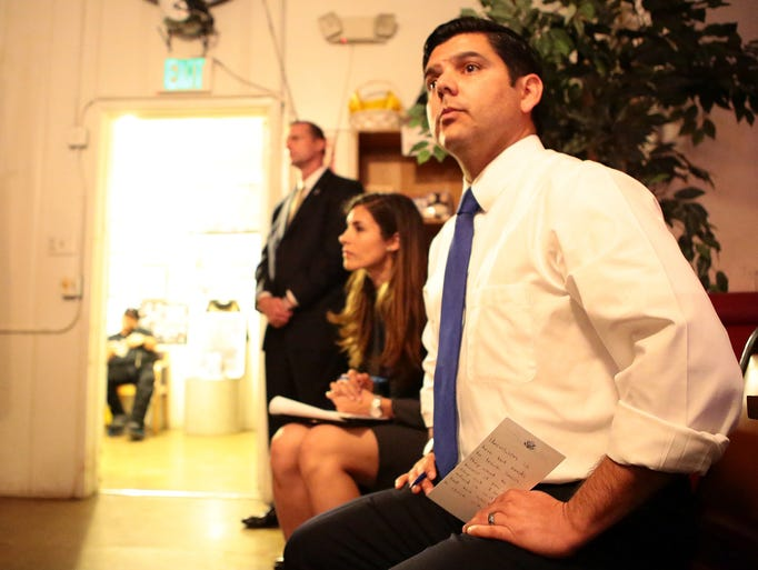 Raul Ruiz Congressman Raul Ruiz Quiet About Possible