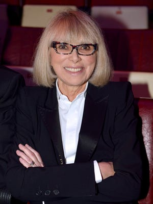 French actress Mireille Darc, seen in September of 2013, has died.