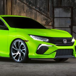 Honda wows with new Civic concept