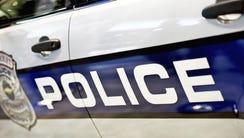 Police Car Closeup