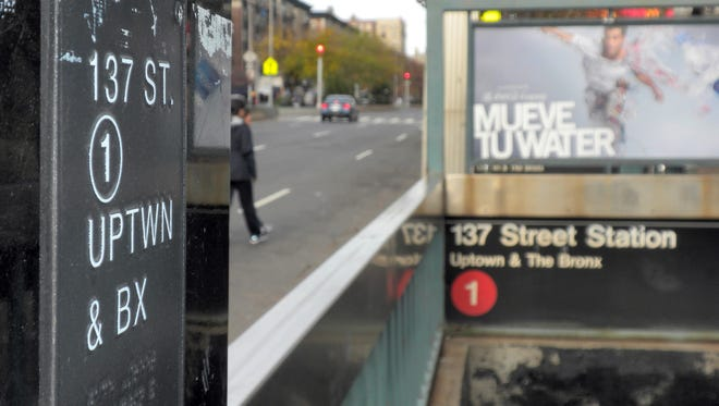 This photo shows the 137th Street subway station in Harlem.