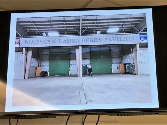 Nueces County commissioners voted unanimously to rename the Central Pavilion Arena at the Richard M. Borchard Regional Fairgrounds in Robstown after Berry Contracting Inc. founders Marvin and Laura Berry. The couple was recognized for their support for the Nueces County Junior Livestock Show.