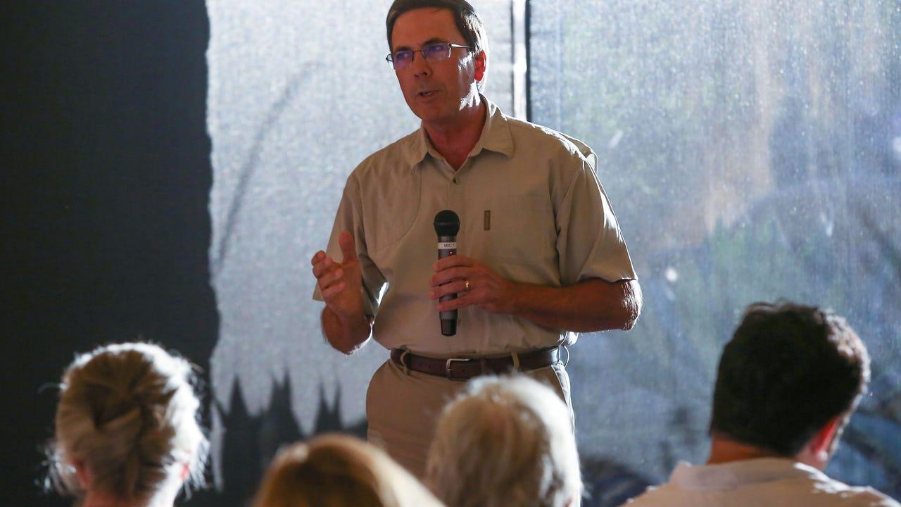 Storyteller Allen Monroe