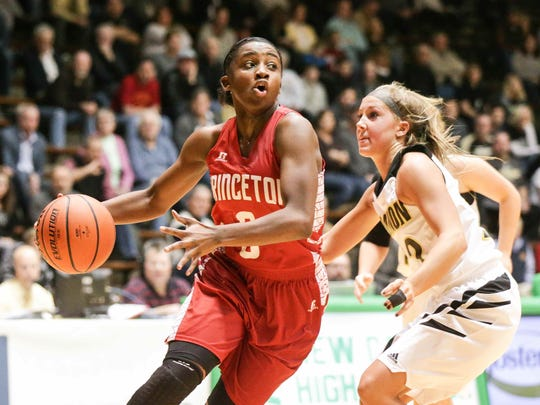 Princeton's Jackie Young could break Shanna Zolman's career scoring record Thursday.