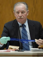 Mike Riddle testified during the 2007 murder trial