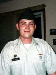 Army Specialist Kevin Cuming