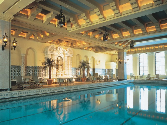 50 beautiful indoor hotel pools for 4 elements salon chicago