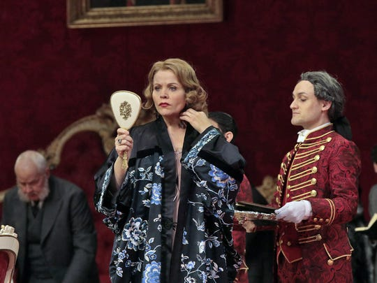 "Renée Fleming is the Marschallin in Strauss' ""Der Rosenkavalier,"" which will air at 9:30 p.m. May 17 at Regal Santiam Stadium."