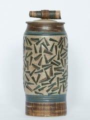 Ceramic vessel by Linda Sheard of Lily Bay Pottery,