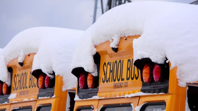 All Lenawee County schools had a snow day Friday.