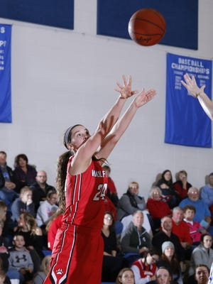 Michele Hannah and Laingsburg are ranked No. 1 in Class in the first AP girls hoops poll of the season.
