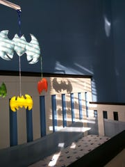 Bat mobile in Brandon's bedroom created by My Lil Blue Heart