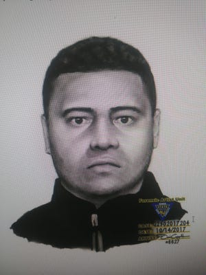 Composite of suspect sought in Oct. 14, 2017 home invasion on Ackerman Avenue in Clifton