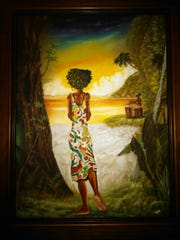 Tavani Williams has two works in the Creative Tallahassee