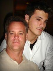 Jay Poston with his son, Ryan Poston.