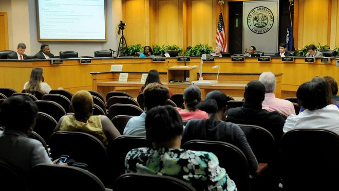 The Shreveport City Council approved the 2015 budget.