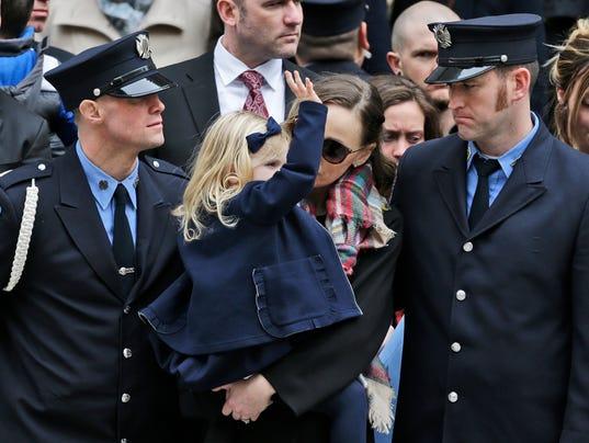Michael Davidson FDNY funeral