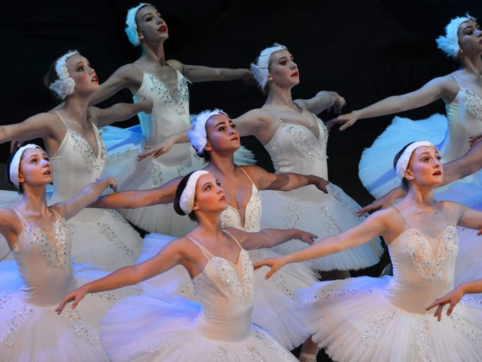 Images from A.V.A Ballet Theatre's dress rehearsal