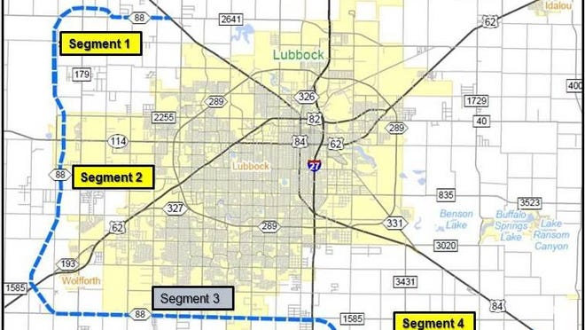 The Texas Department of Transportation held a public meeting Tuesday about the proposed Loop 88 project.