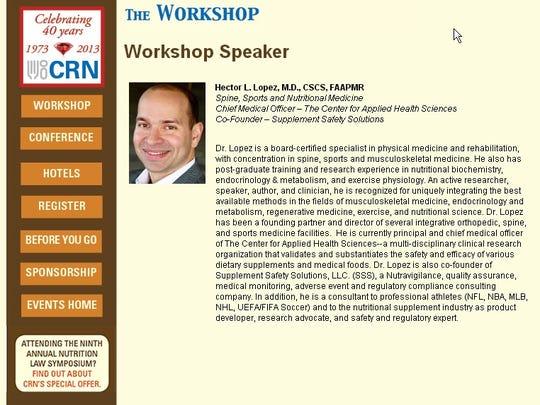 Hector Lopez_CRN workshop bio
