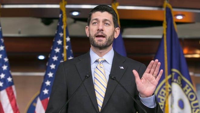 House Speaker Paul Ryan of Wis. on Dec. 10.