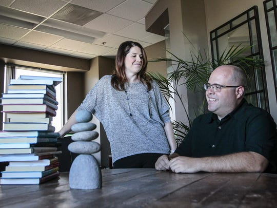 """We're good for each other,"" says Retailer Web Services COO Jennie Gilbert of working with her brother, CEO Jim Kane. ""We balance each other out."""