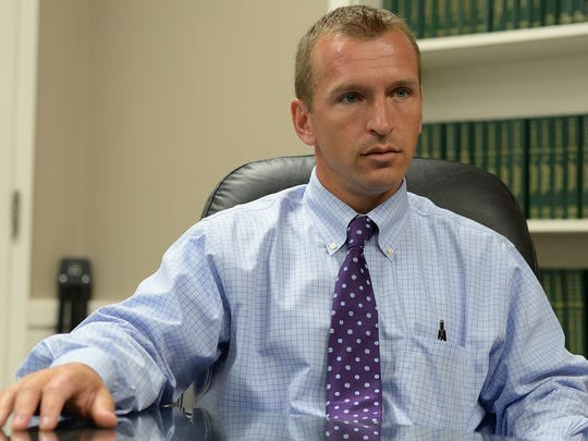 Lebanon County District Attorney Dave Arnold talks about the Kortne Stouffer case. LEBANON DAILY NEWS - JEREMY LONG