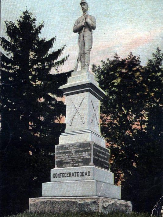 Thornrose Cemetery Confederate Memorial