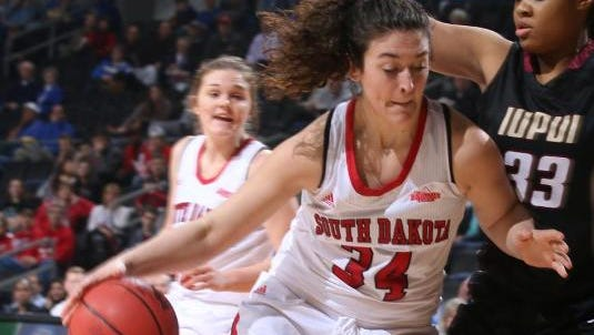 Kate Liveringhouse has been a steady contributor off the bench this year for USD.