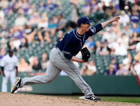 Ryan Buchter, San Diego Padres