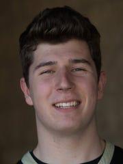 Oak Park's Riley Battin was named the Boys Player of
