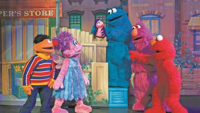 """""""Sesame Street Live: Let's Dance!"""" includes kids' favorites like """"Itsy Bitsy Spider."""""""
