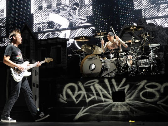 Blink-182, My Chemical Romance And Matt & Kim Perform At Red Rock Casino